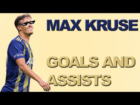 Max Kruse Fenerbahçe Goals And Assists!