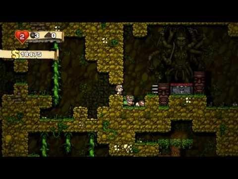 Spelunky #5 Проход в джунгли открыт