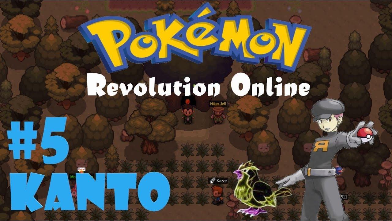 Pokemon Revolution Online | Kanto | Ep5: The Viridian Maze