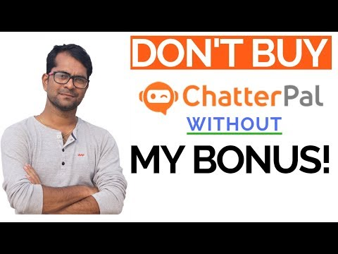 ChatterPal Review: A Complete Walkthrough. http://bit.ly/30Hw13Y