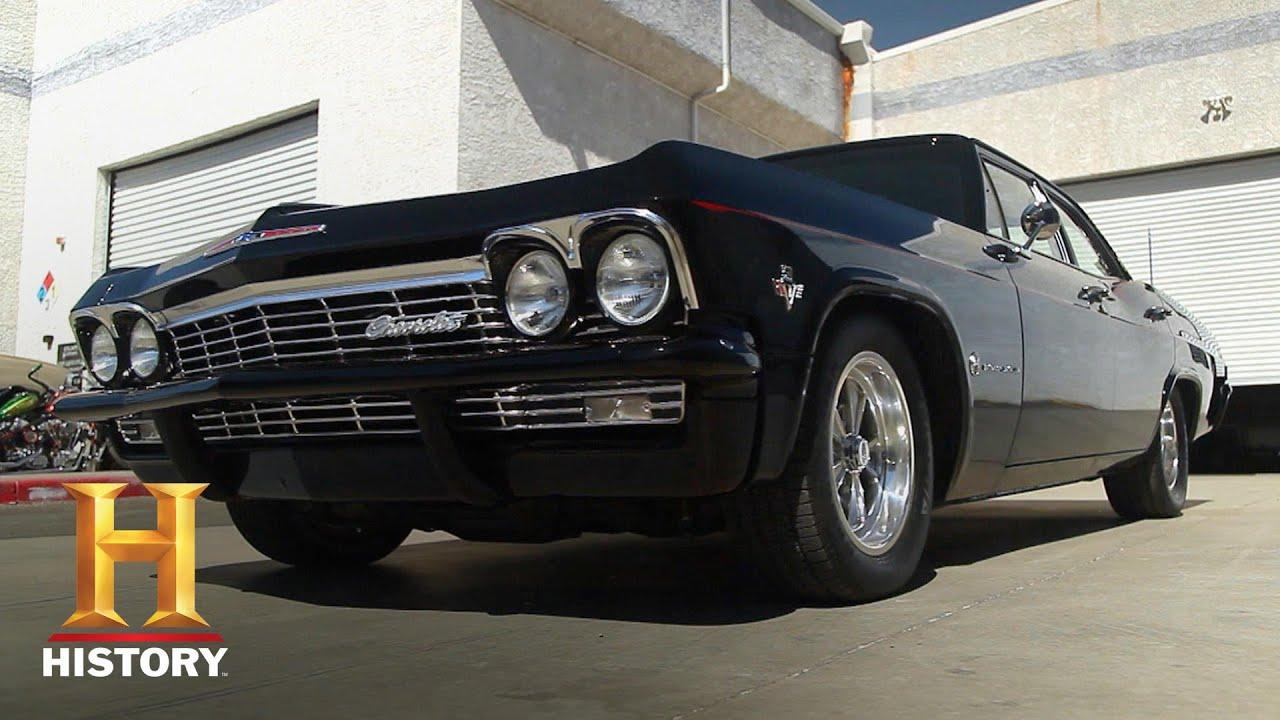 Download Counting Cars: Sleek & Sexy '65 Chevy Impala (Season 3)   History