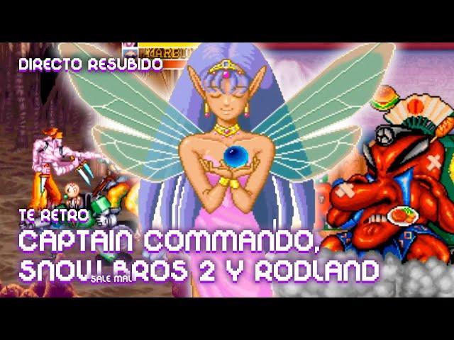 👾 TE RETRO: CAPTAIN COMMANDO, SNOW BROS 2 Y RODLAND | La red de Mario