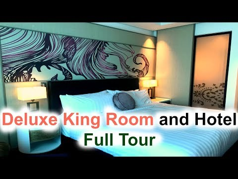 AMARI HOTEL, JOHOR BAHRU (Deluxe King, Pool and Gym Full Tour!)