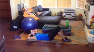 Bicycle Crunches, recreating you