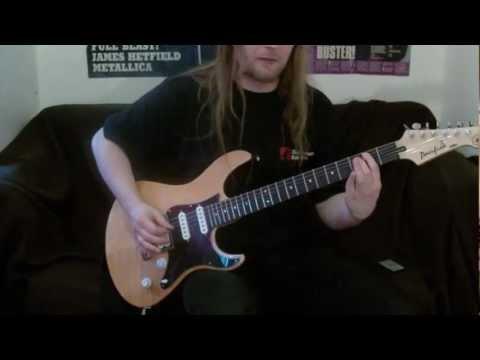 electric funeral (Beginner riffs guitar lesson)