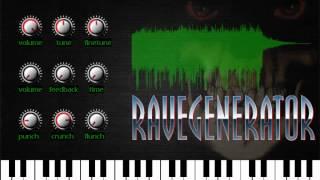 Rave Generator VST by Wavosaur