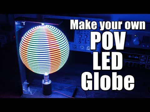 Make your own POV LED Globe