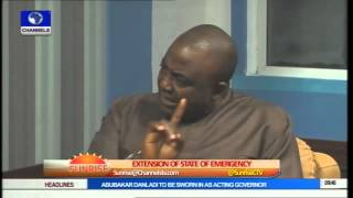 Reps say State of Emergency By President Jonathan Has Expired PT2
