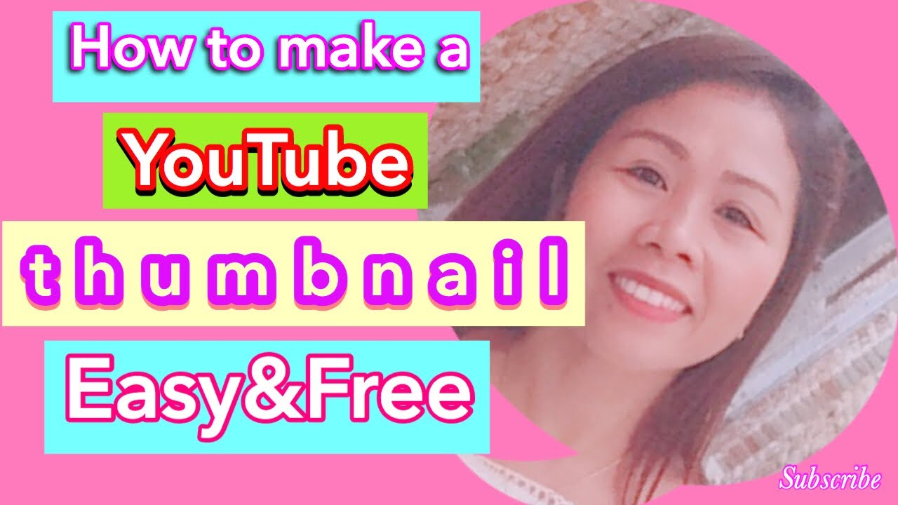 How to make a YouTube thumbnail | Create your awesome thumbnail