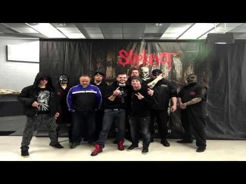 Slipknot: Meet And Greet in Düsseldorf (ISS DOME 04.02.2016) [German/FullHD]