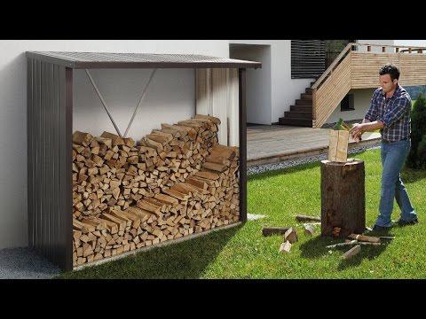 holzunterstand bauen doovi. Black Bedroom Furniture Sets. Home Design Ideas