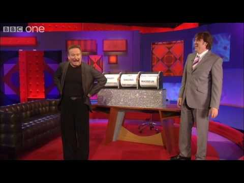 Robin William Plays the Random Character Generator - Friday Night with  Jonathan Ross - BBC One