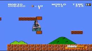 #anushka sharma meme in Mario version #india fantasy #subscribe me
