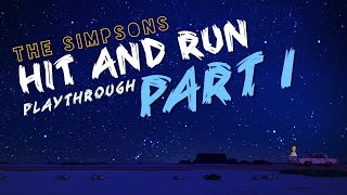 The Simpsons Hit & Run: Part 1 (PS2)