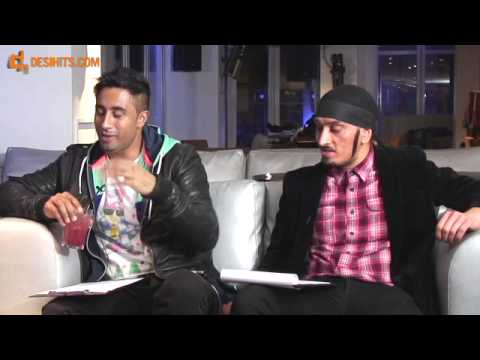 OMARION DANCING TO BHANGRA - FULL INTERVIEW