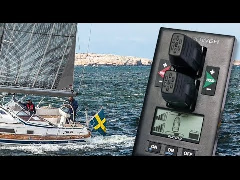 Side-Power retractable and variable speed thrusters with hold function in the new Hallberg Rassy 412
