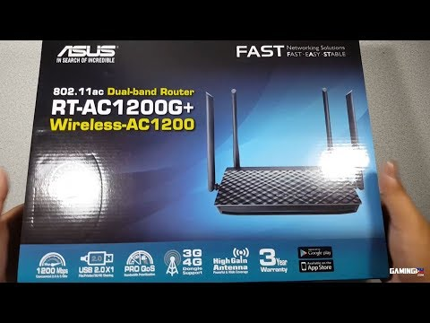 who here is using ASUS RT-AC1200G+ ?