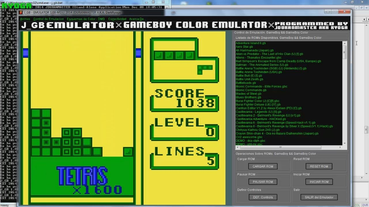 Gameboy color palettes - Tetris Plus Super Game Boy Color Palette Test Tetorisu Purasu