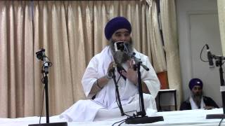 Bhai Paramjit Singh Khalsa Katha August 2014 part 1