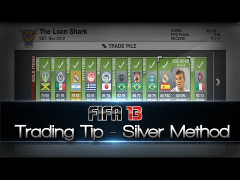 FIFA 13 Trading | How to Make Coins w/ Silver Trading (Junk Filtering Method)