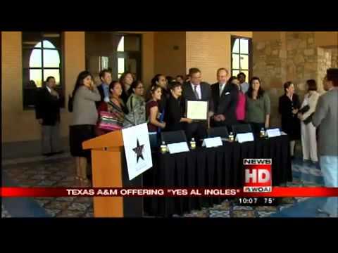 Yes al Inglés and Texas A&M-San Antonio Partnership