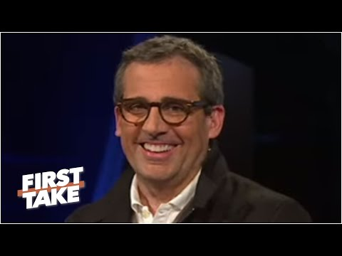 [2013] Steve Carell talks Boston sports and the success of Anchorman & his other movies | First Take
