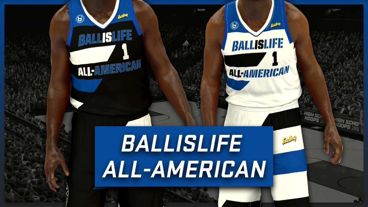 NBA 2K17 - 2016-17 Ballislife All American Jersey   Court Tutorial ... f69221be0