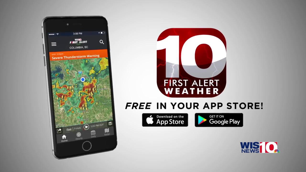 WIS-TV First Alert Weather App Promo