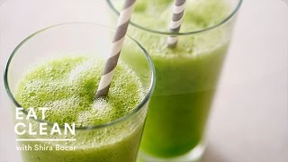 Melon, Mint And Cucumber Smoothie Recipe - Eat Clean With Shira Bocar