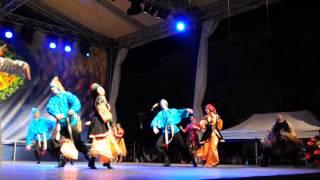 Koncert taneczny zespołu polonijnego z Rosji 26.07.2014