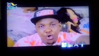 FRANKIE DEE - TING GO on  {NTV THE BEAT} Zigo Dancehall