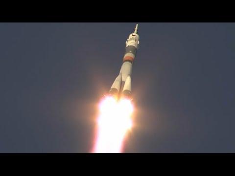 Soyuz FG - Soyuz TMA-19M Launch with three Space Station Crew Members