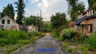 The Abandoned Street & Houses Of Lincoln Way In Clairton, Pa *DEMOLISHED*
