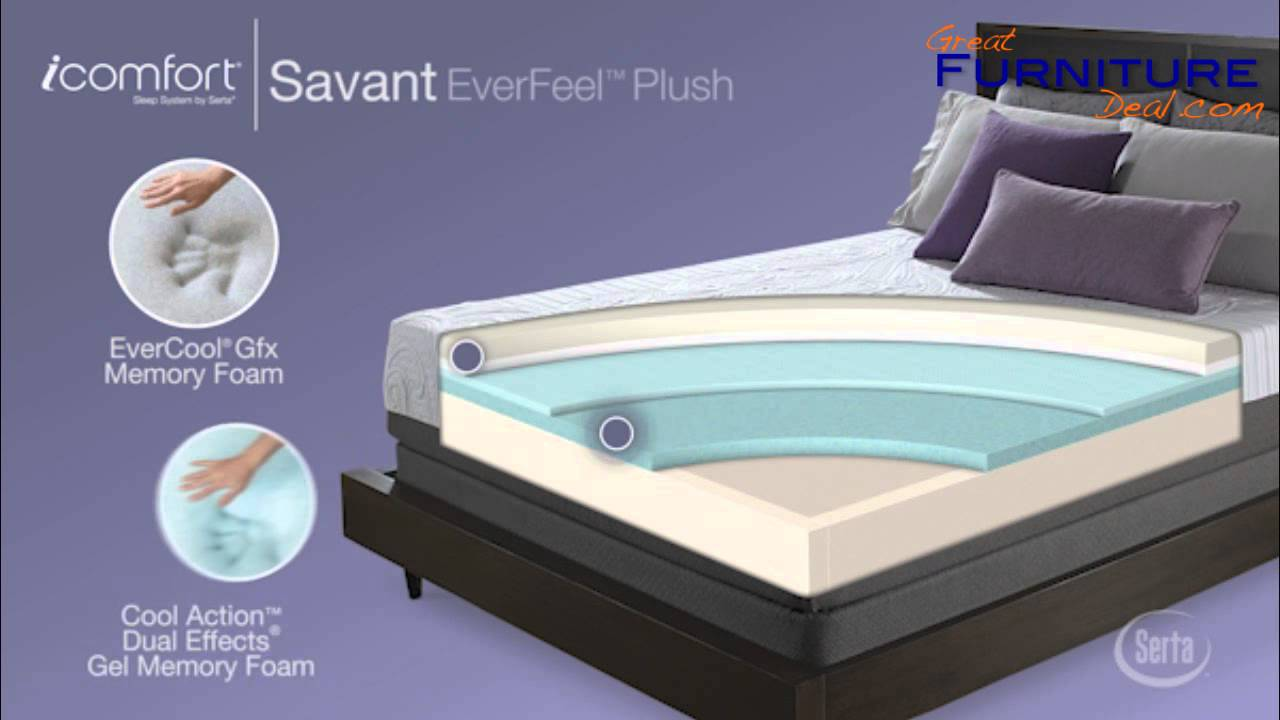 Serta Mattress Icomfort Savant Everfeel Plush By