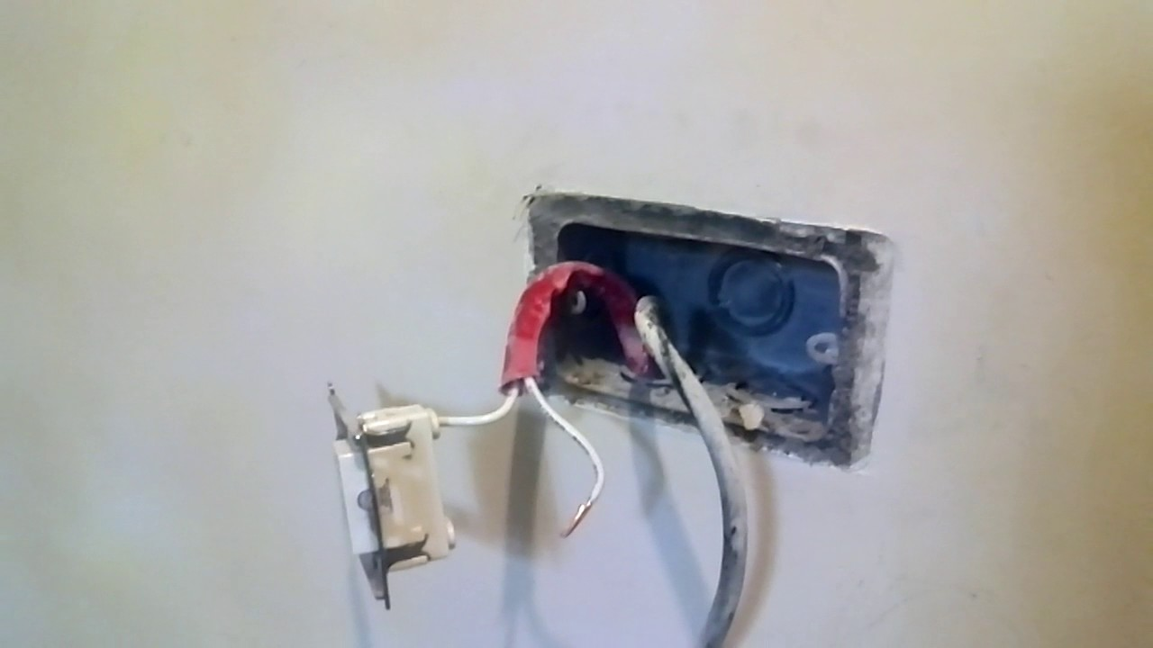 How to replace single outlet into 2 gang with switch with live power ...