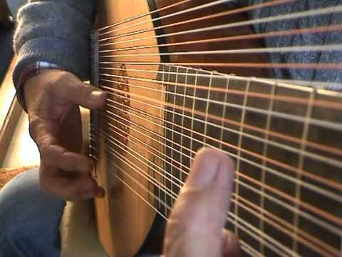 David Miller performs Weiss prelude in Dm on the Baroque lute