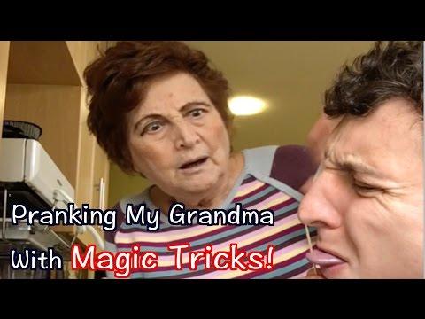 The Bus Driver - Guy Trolls His Grandma With Magic Tricks