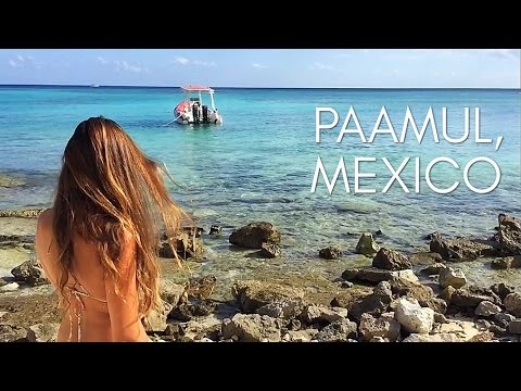 Paamul, Mexico - STUNNING BEACH & NATURAL BEAUTY