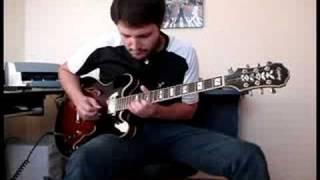 Epiphone Sheraton II - Clean Blues