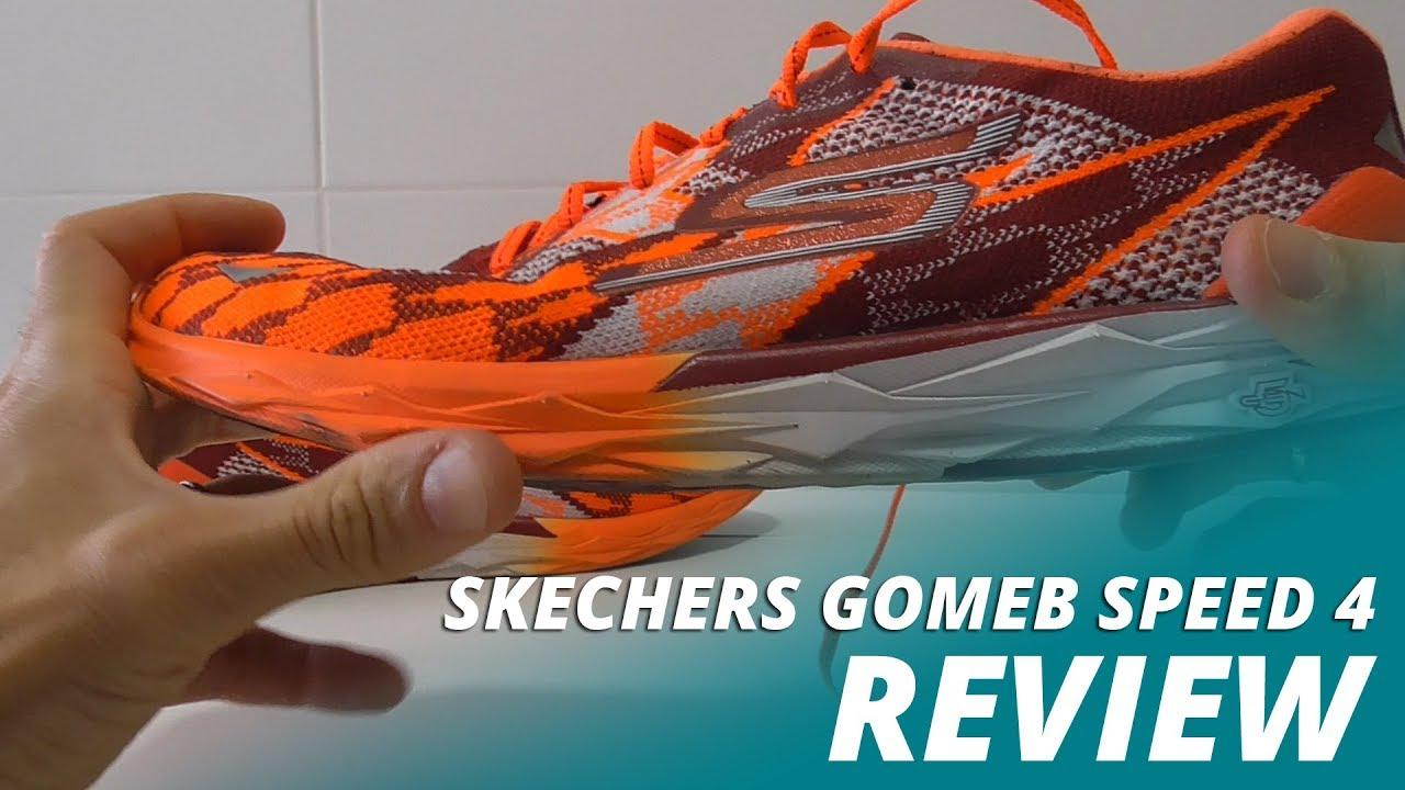 Skechers Gomeb Speed 4: más rápidas, estables y ligeras