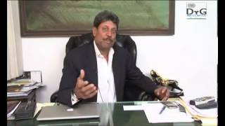 Kapil Dev in Mainpuri