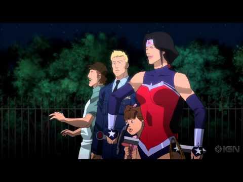 Justice League: War - Trailer Debut