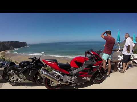 VIAGEM DE 600 KILOMETROS DE MOTO ATE ARRIFANA/PORTUGAL