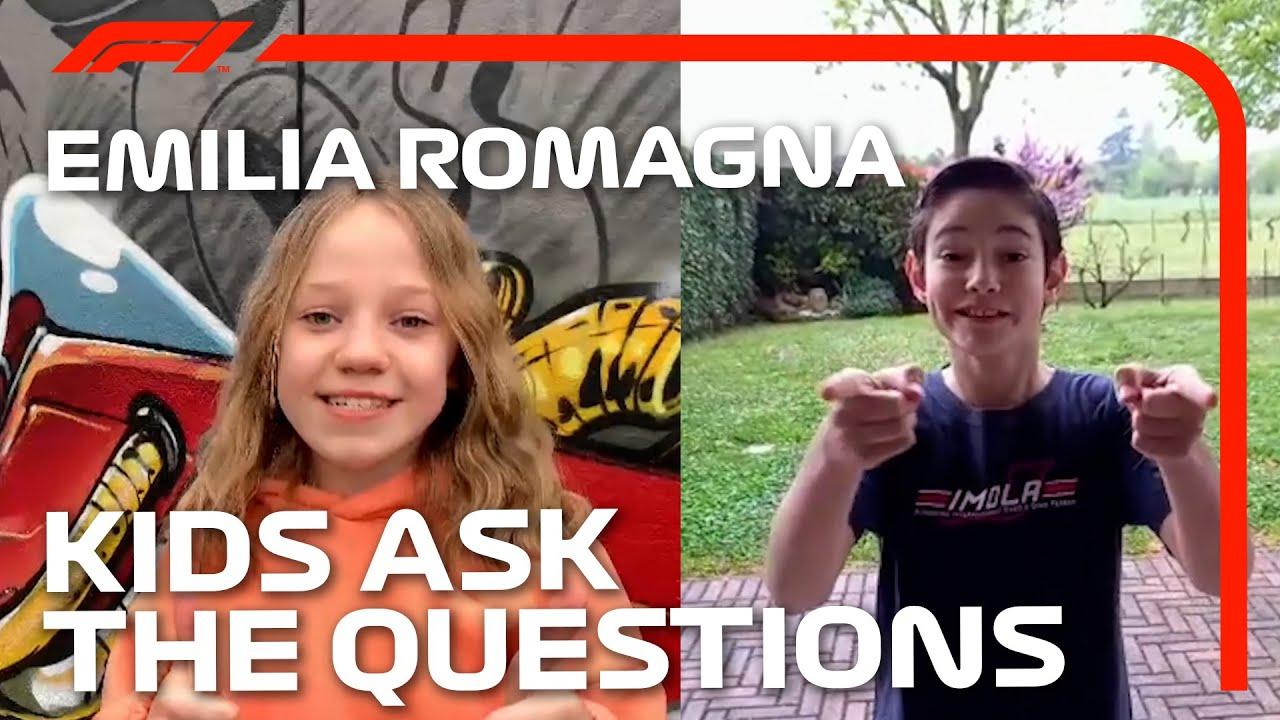 Kids Ask The F1 Drivers | 2021 Emilia Romagna Grand Prix