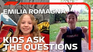Kids Ask The F1 Drivers | 2021 Emilia Romagna Grand Prix