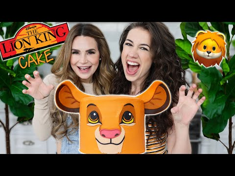 VIDEO: LION KING CAKE ft Colleen! - Nerdy Nummies