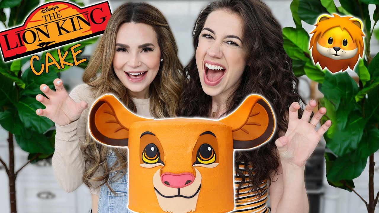 LION KING CAKE ft Colleen! - Nerdy Nummies image