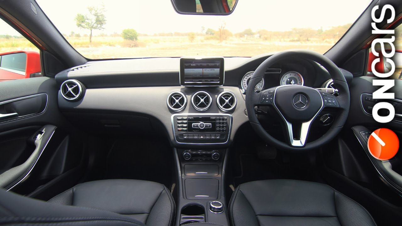 mercedes benz a-class - user experience reviewoncars india