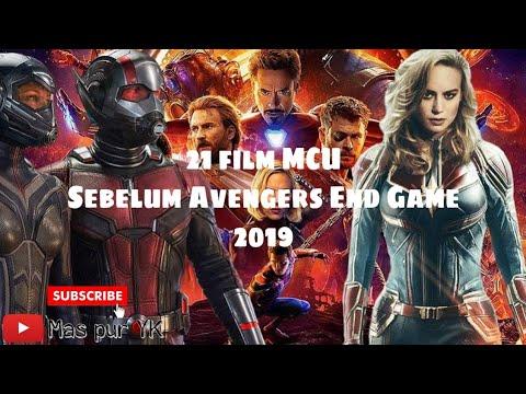 Film Marvel Cinematic Universe Since 2008 - 2019
