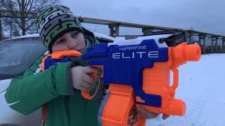 НЕРФ БИТВА ЗА АЙФОН 8 ПЛЮС!!!NERF BATTLE FOR THE IPHONE 8 PLUS